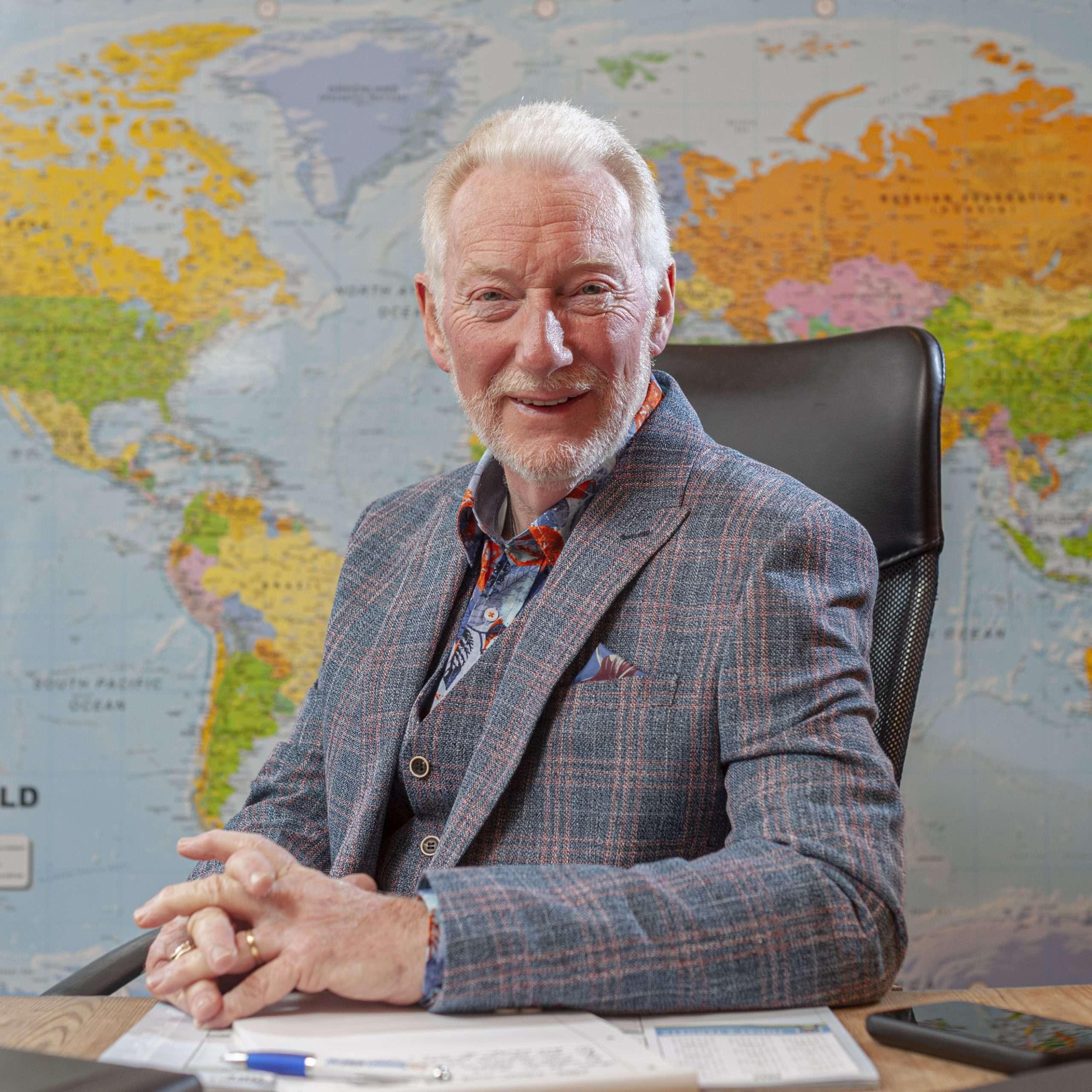 Terry Cooper at Expo Scotland